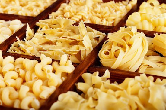 A variety of different pastas that have lemon that can add zest to your dish and make it more appealing.
